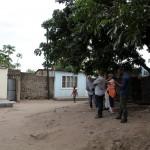 Junto à casa de Samora Machel